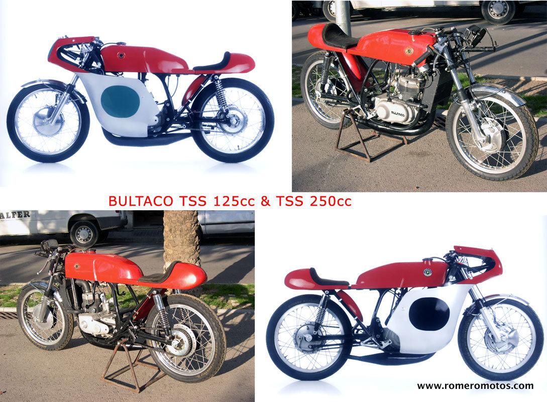 Bultaco sales restoration manufactured parts